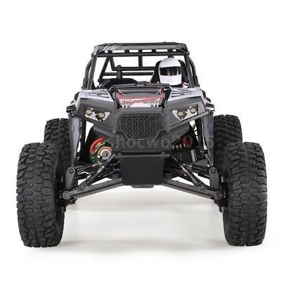 ﹩111 04  US Pop WLtoys 10428-B2 1 10 2 4G 4WD Rock Crawler Off-Road