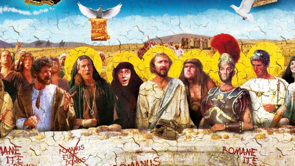 Monty Python S Life Of Brian Monty Python Cinema Art Monty Python Flying Circus