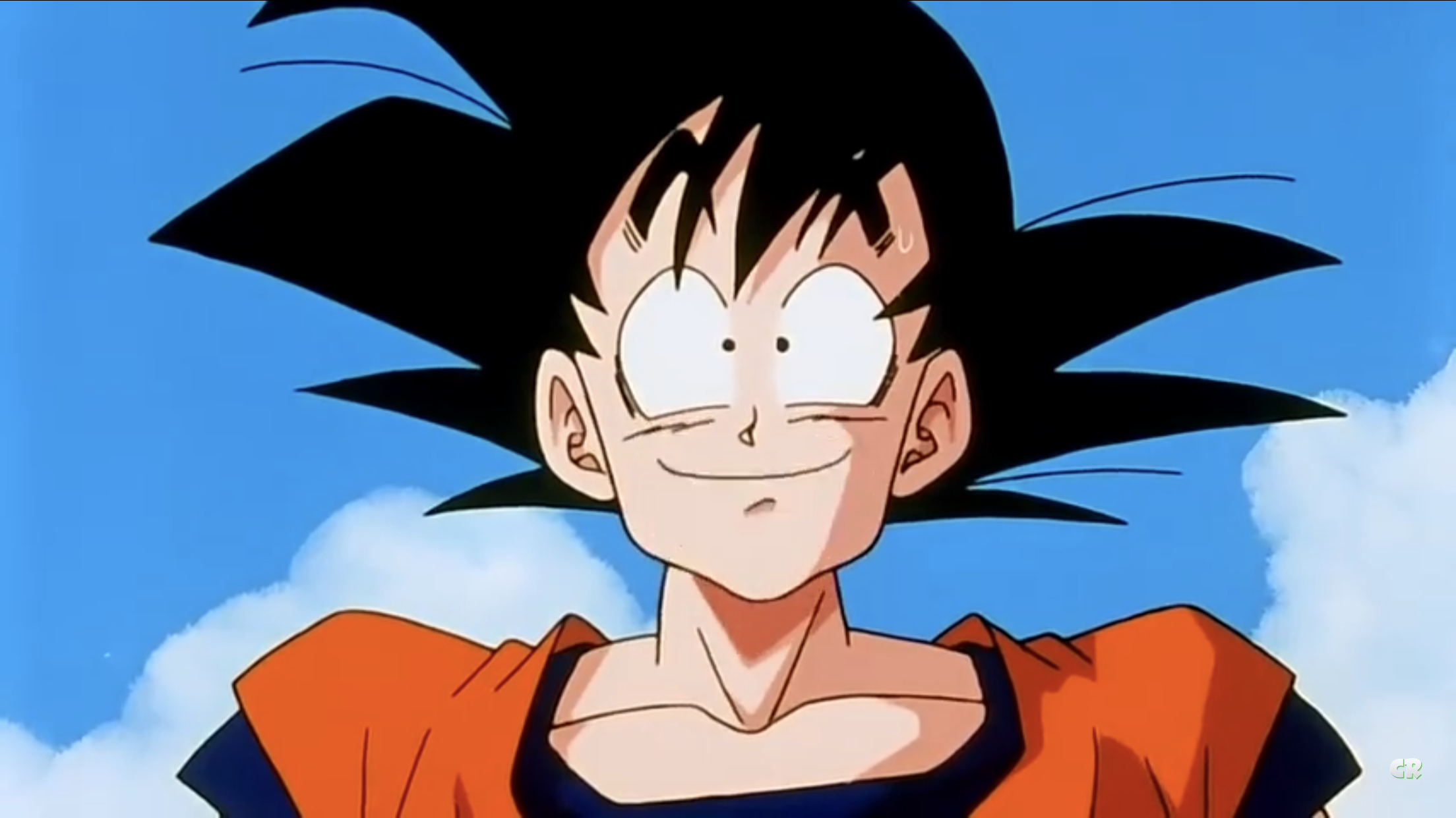 What A Lovely Day It Is Dragon Ball Super Goku Super Saiyan Blue Goku