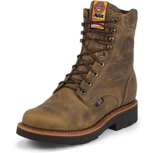 Rugged Gaucho Steel-Toe Work Boots