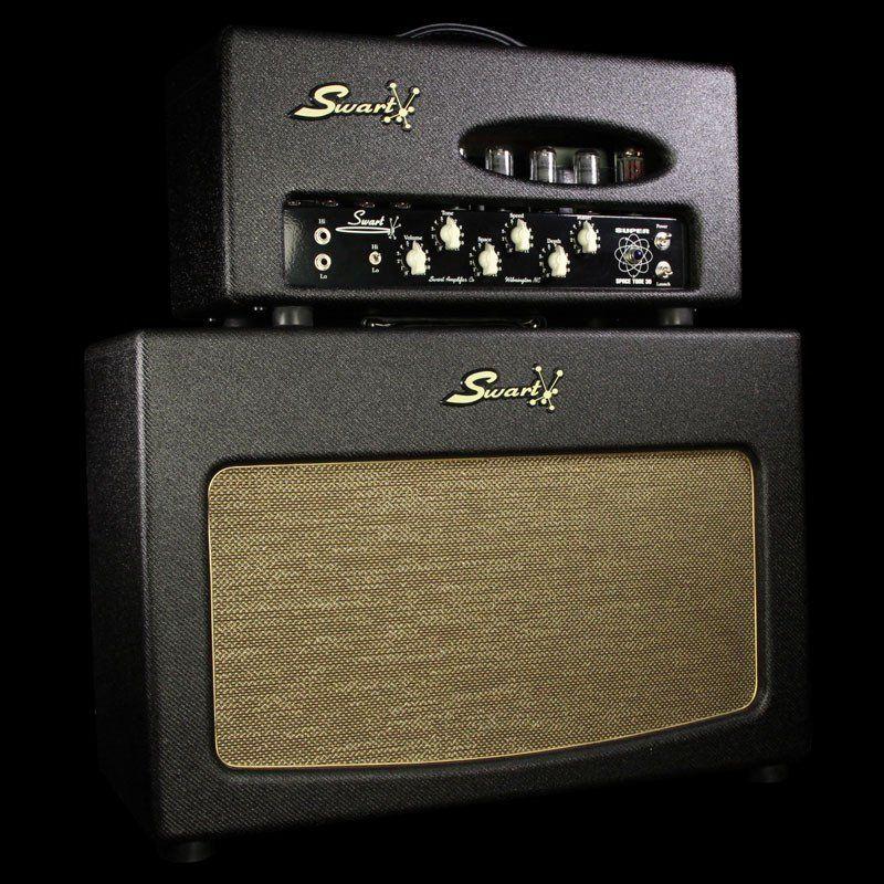 Used Swart Super Space Tone 30 Head & 2x12 Cabinet Dark Tweed ...