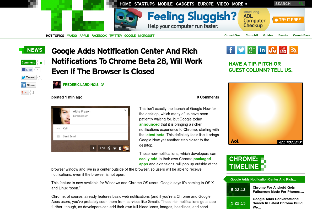 http://techcrunch.com/2013/05/23/google-adds-notification-center-to-chrome/ ... | #Indiegogo #fundraising http://igg.me/at/tn5/