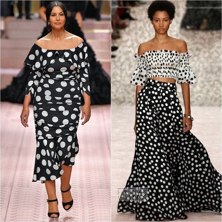 acb5e7667f6 Spring Summer 2019 Fashion Trends Polka Dot    Основные тенденции моды весна -лето 2019  Принт горошек