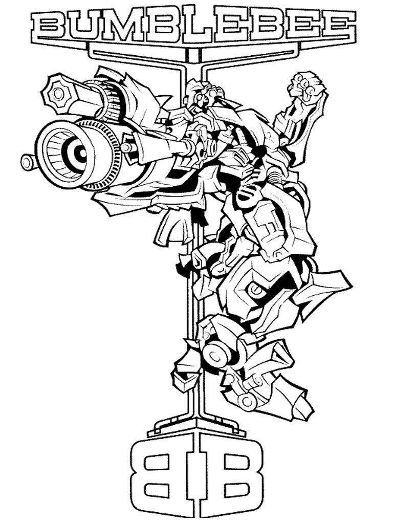 Transformers coloring pages for kids free coloring pages for