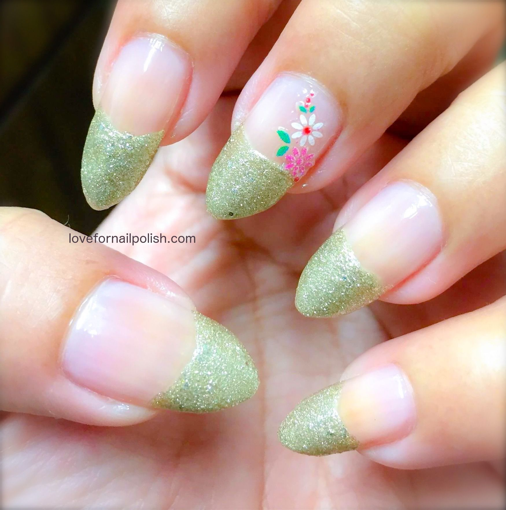 Sticker Nail Art DesignEasy Manicure At HomeStep By Step