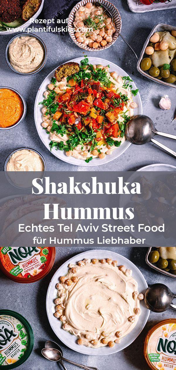 Veganes Shakshuka mit Hummus. Ein Rezept direkt aus Tel Aviv #levanteküche
