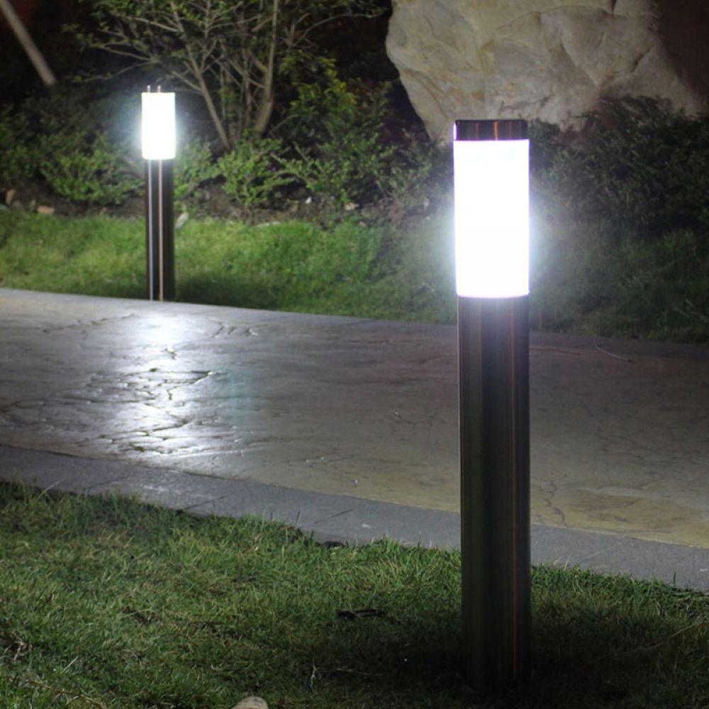 30 Cm Waterproof Led Lawn Lights Lamps Zone Lawn Lights Gate Lights Solar Lights Garden