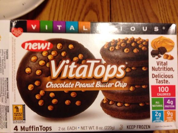 Supplement Review: VitaTops – Muffin Top Supplements – smothered in PB2 Sauce | louisjbianco
