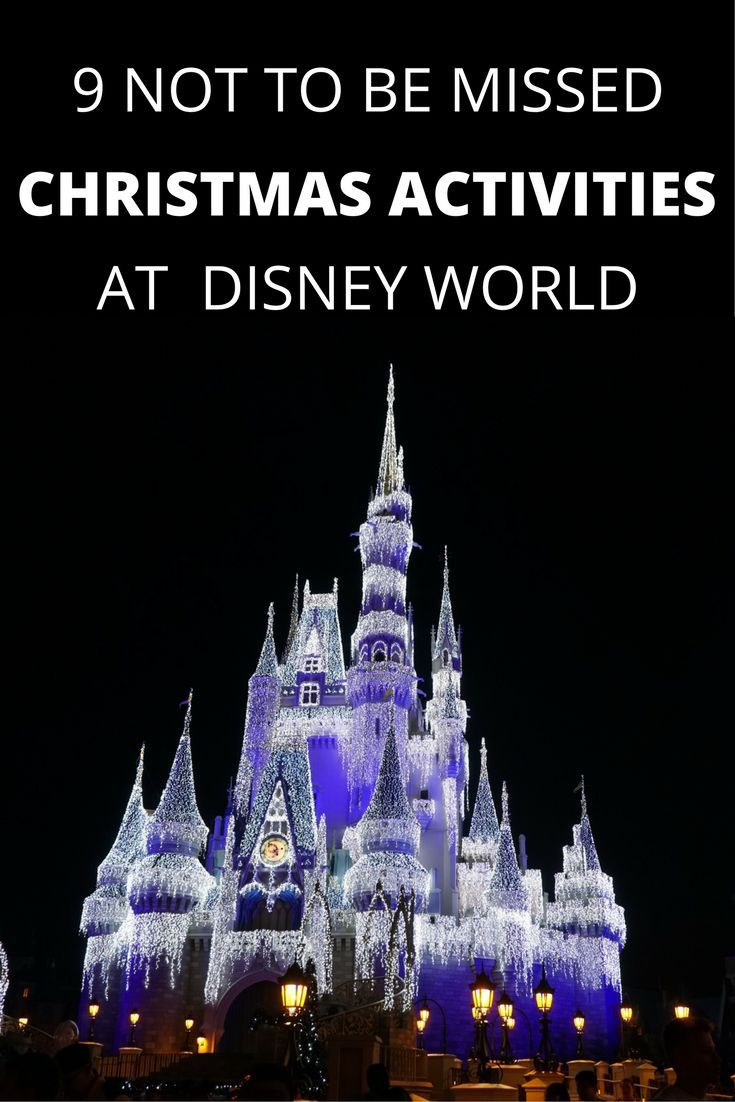 9 Reasons To Visit Disney World At Christmas Gone With The Family Disney World Vacation Disney World Christmas Disney World Florida