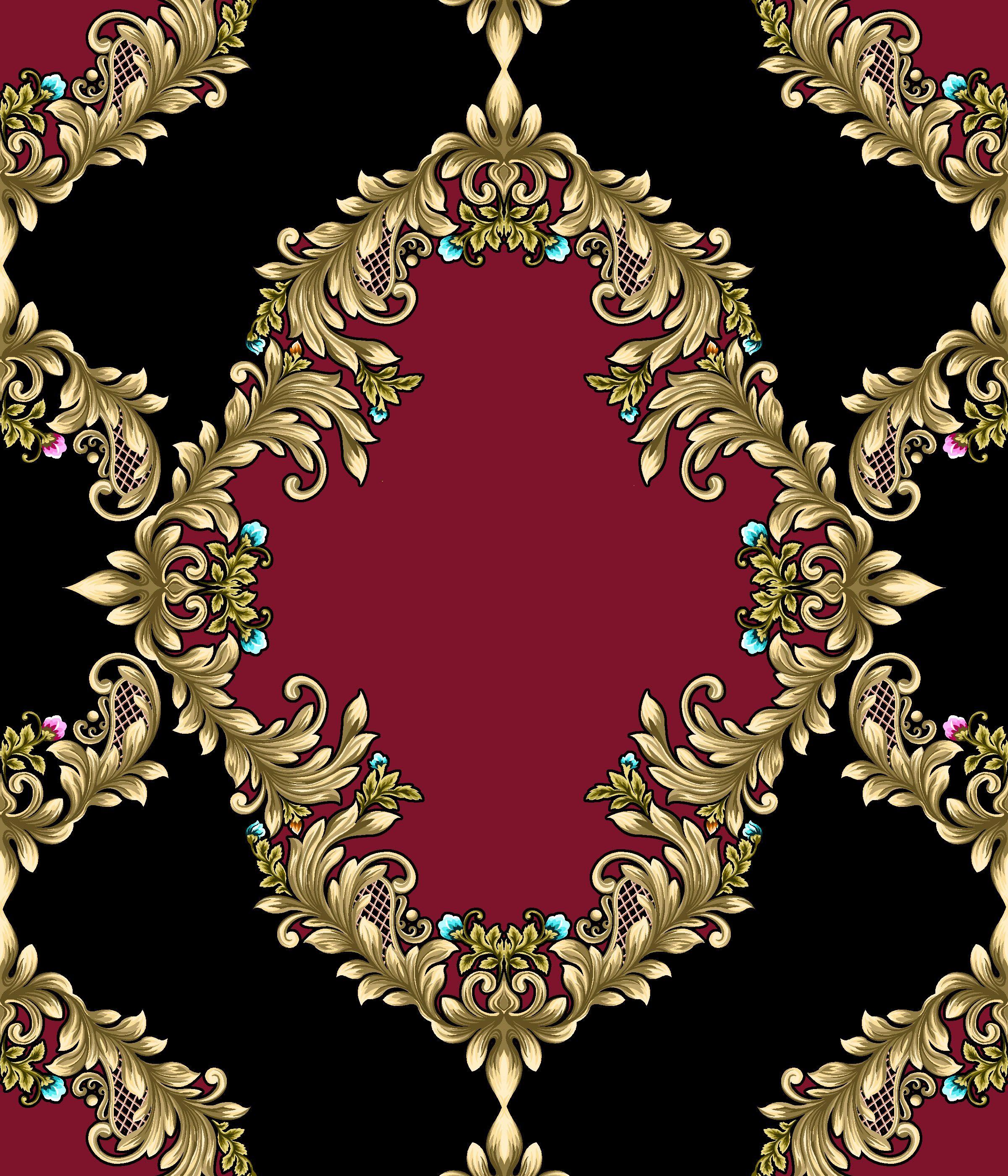Color damask frame dinely en pinterest damask design y