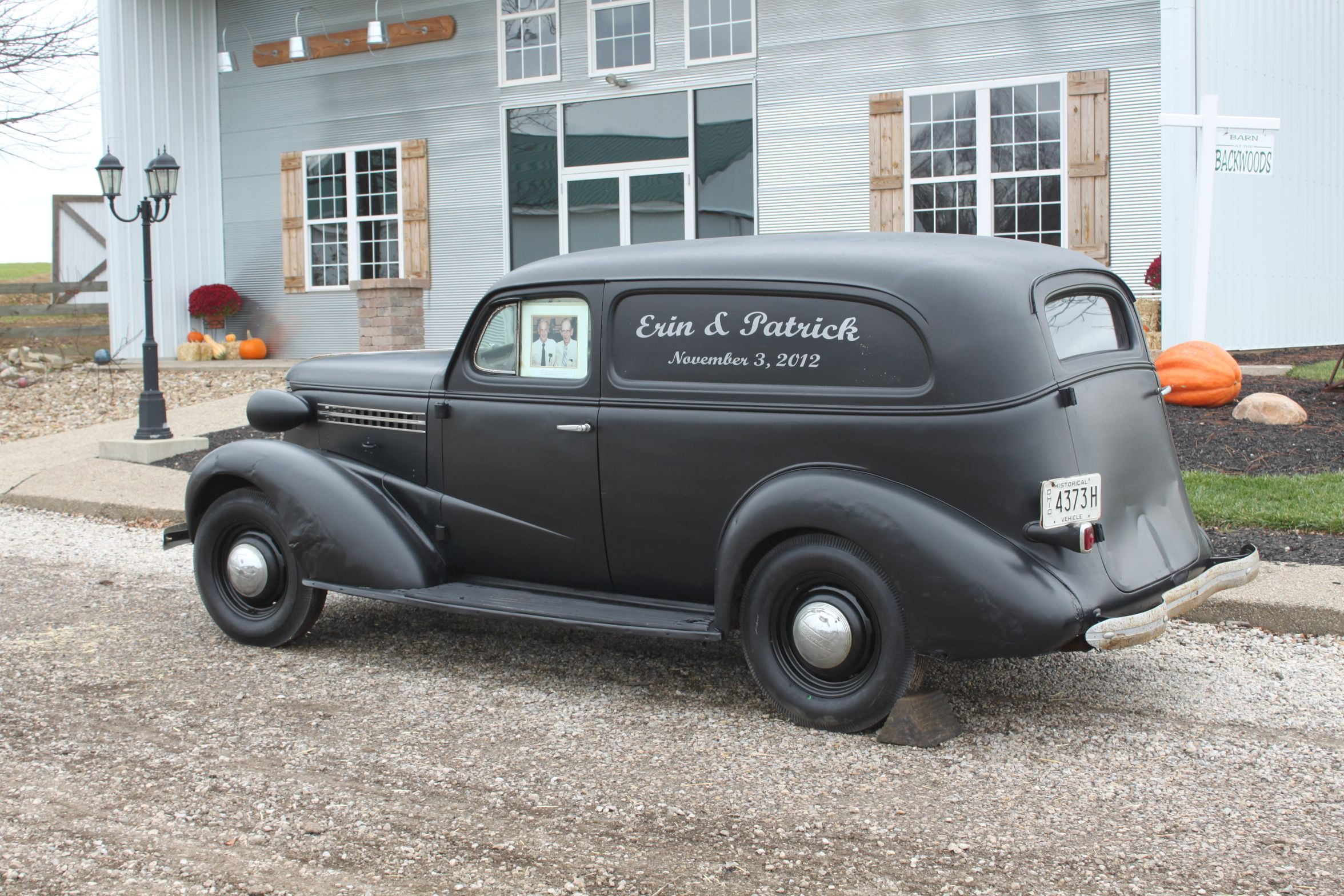Dad s truck 1937 chevy paneled truck