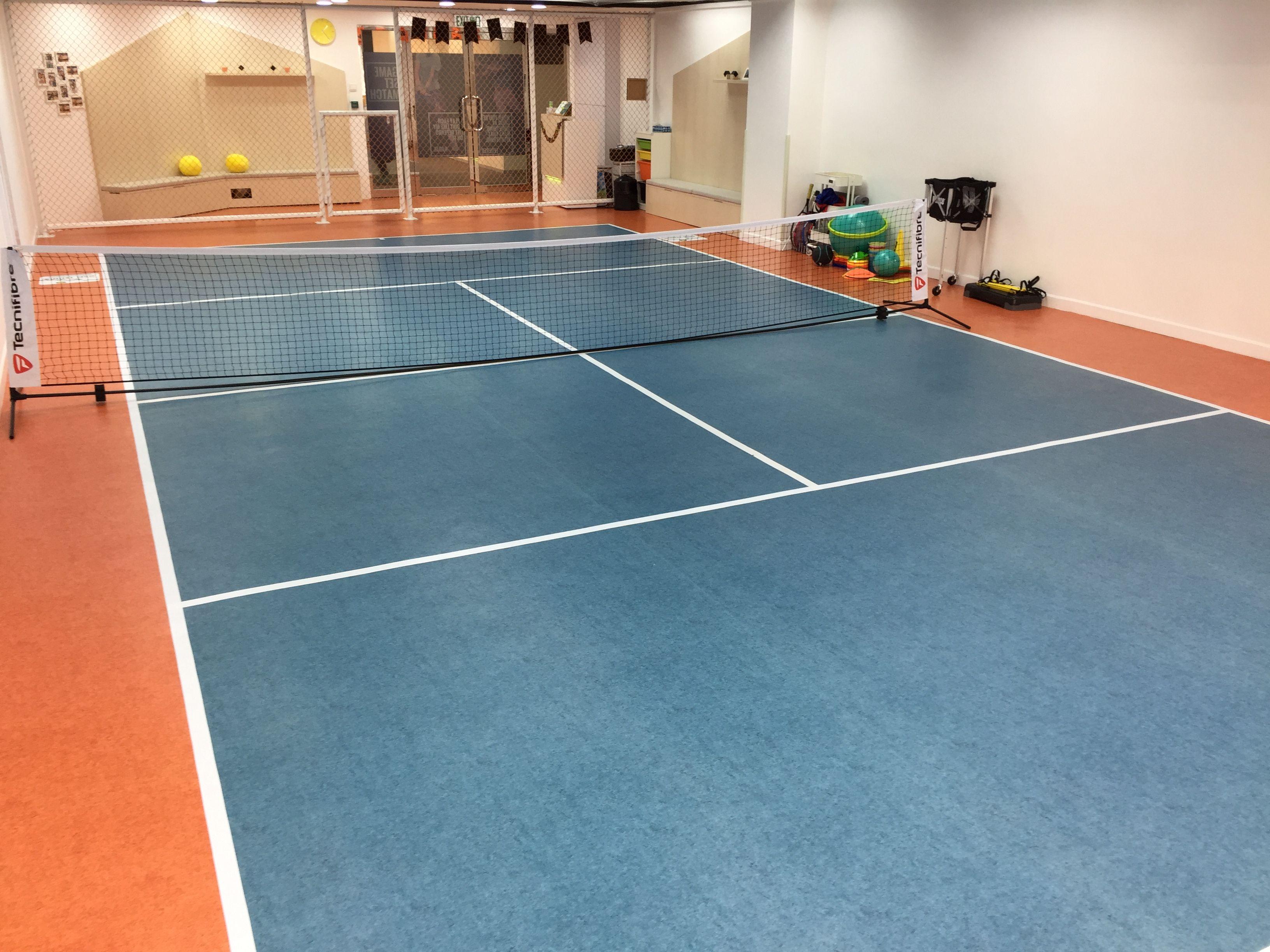 Indoor Mini Tennis Court For Kids Indoor Tennis Tennis Tennis Court Mini backyard tennis court