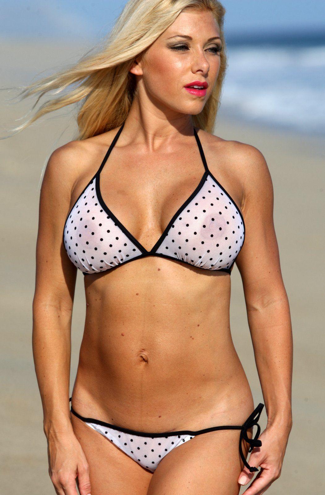 f27dff3a6eb87 Ujena Sheer Saint-Tropez Bikini in 2019   Clothes and Accessories ...