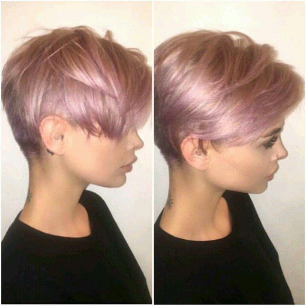 Pin Von Ck Girl Auf Hair Pinterest Frisur Kurzes Blondes Haar