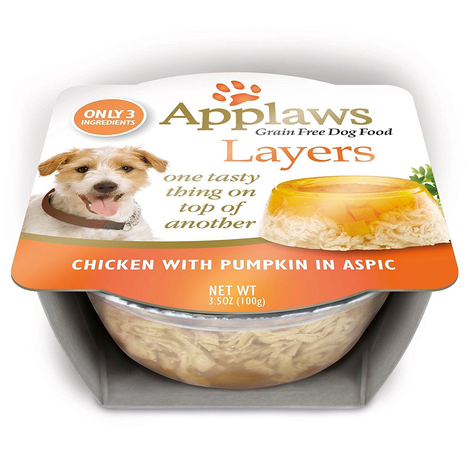 Applaws Limited Ingredient Layer Chicken With Pumpkin In Aspic Natural Dog Food 3 5 Oz Details Can Be Found By Cli Dog Food Recipes Natural Dog Food Food
