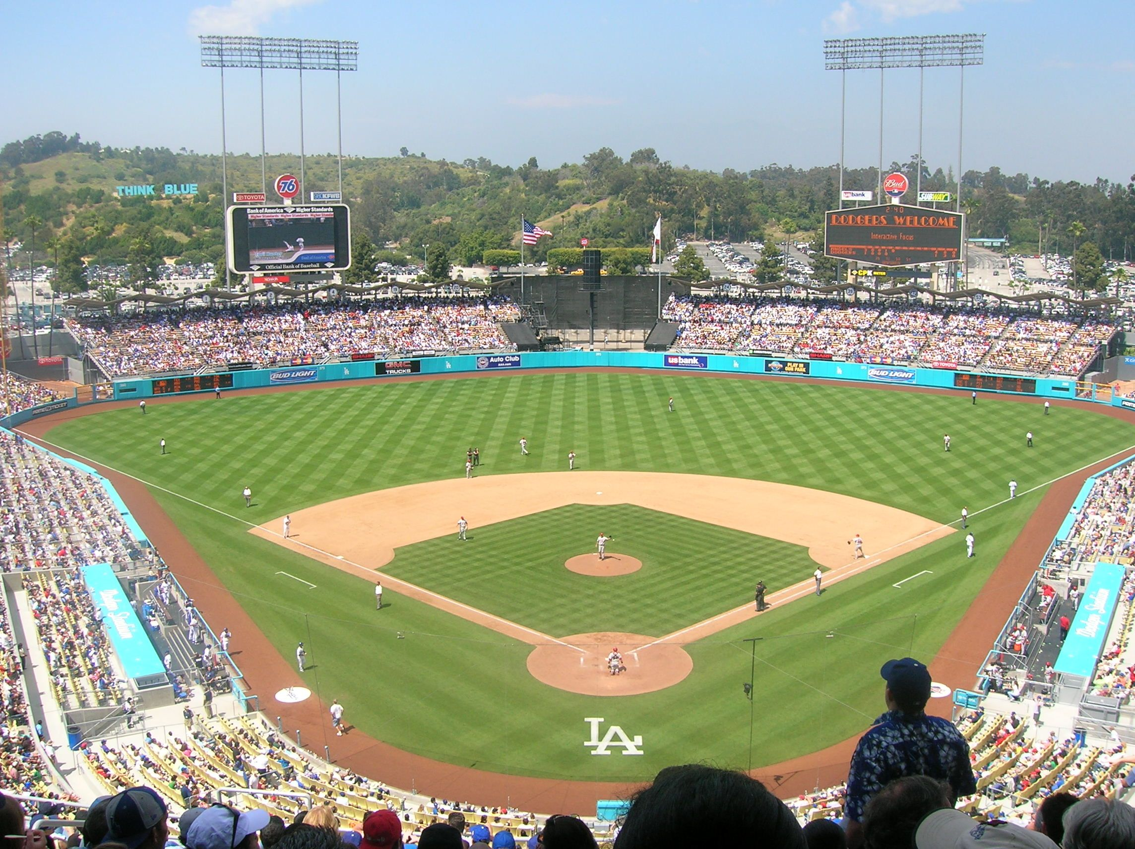 Today S Fields Of Dreams Report On The World On Wheels Focuses On A Team That Has Seen So Much I Major League Baseball Stadiums Baseball Stadium Dodger Stadium