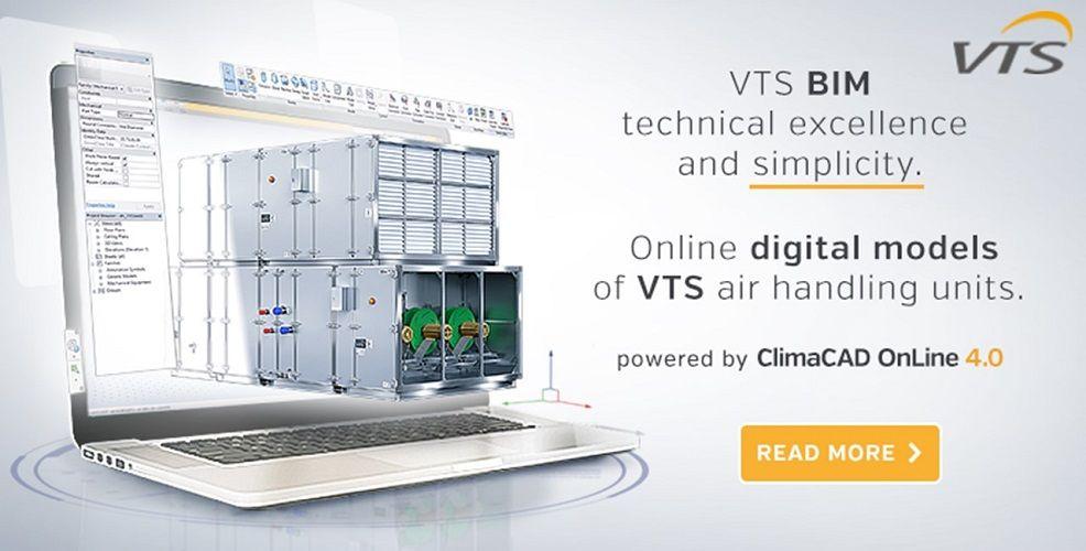 VTS BIM – A New Approach To Digital Models Of Air-Handling Units