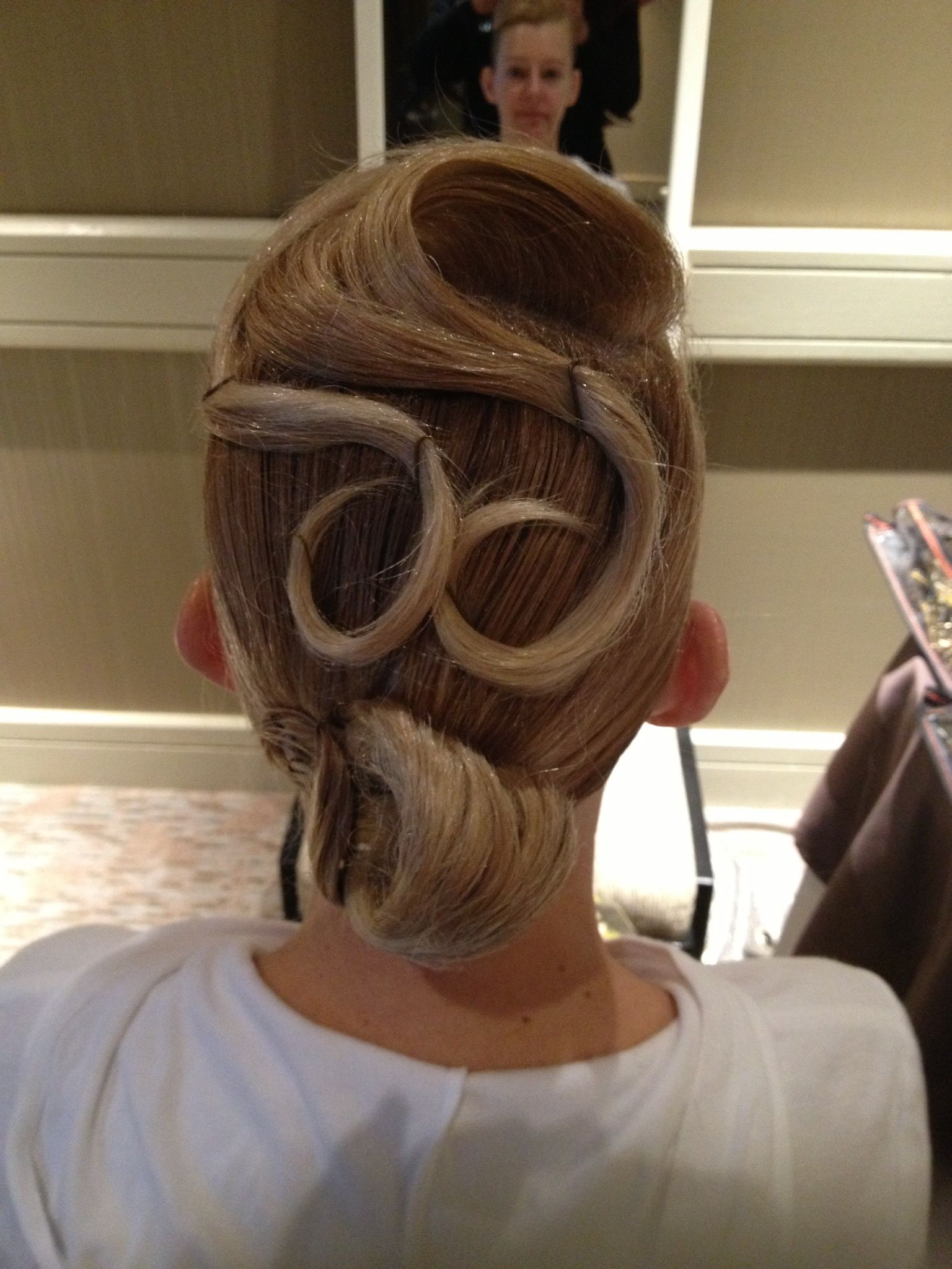 hair styles with twist ballroom hair dancesport hair 9129
