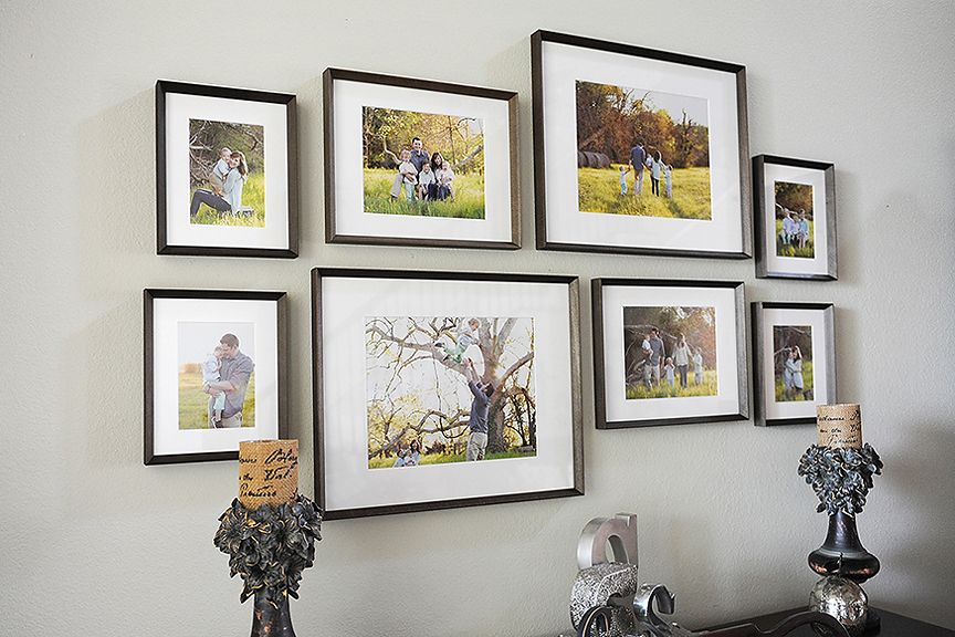 eye-catching frame collections that sell themselves | Display, Wall ...