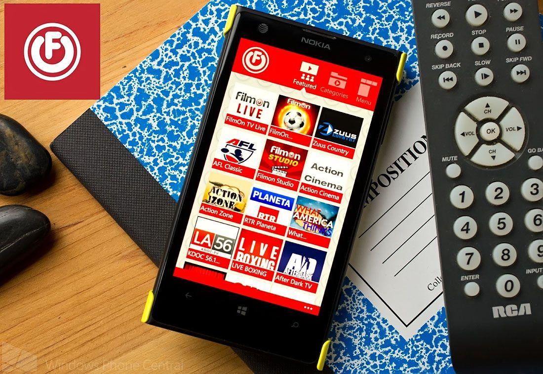 Filmon TV, service de tv direct streaming gratuit en ligne