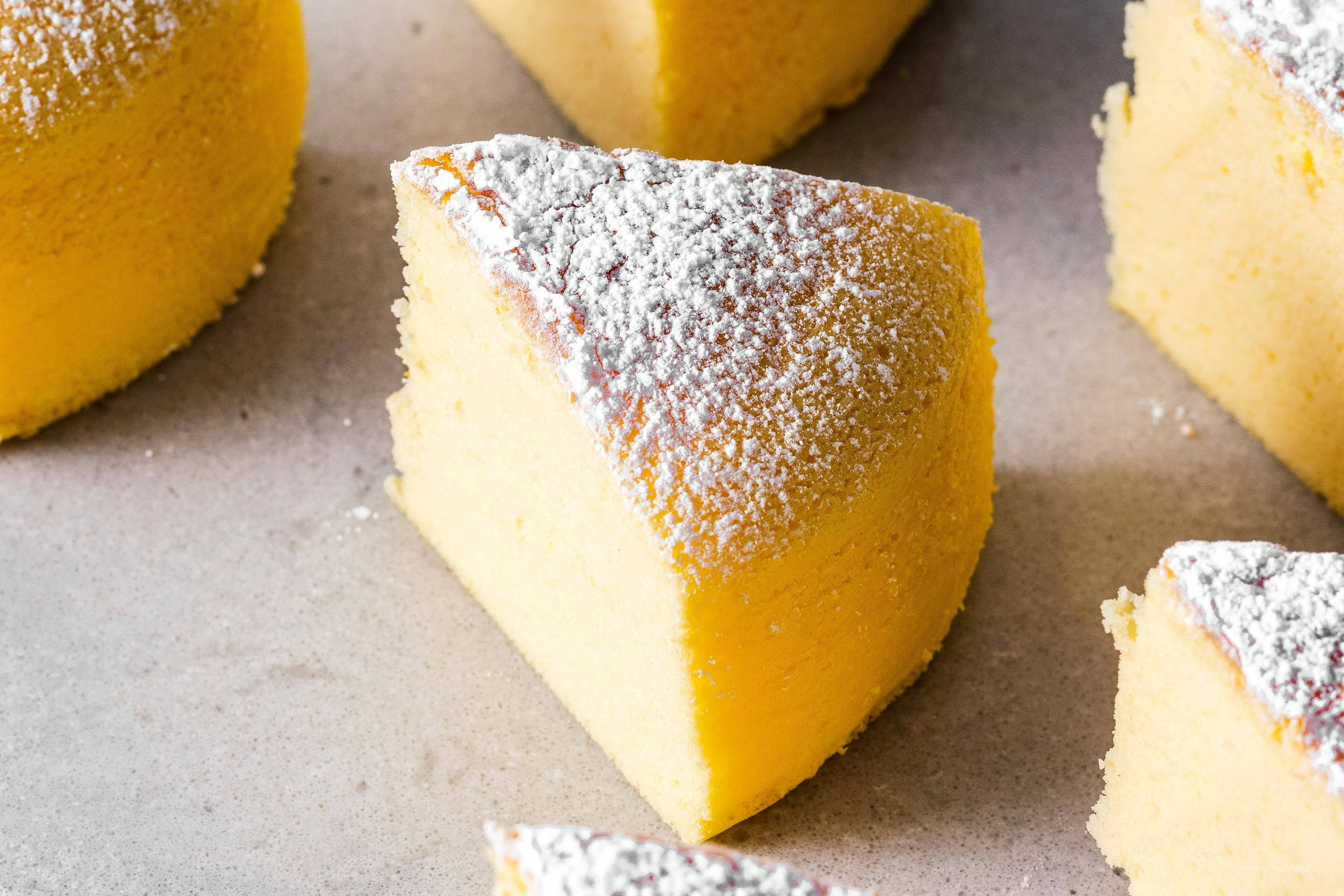 Small Batch Japanese Cotton Cheesecake · i am a food blog