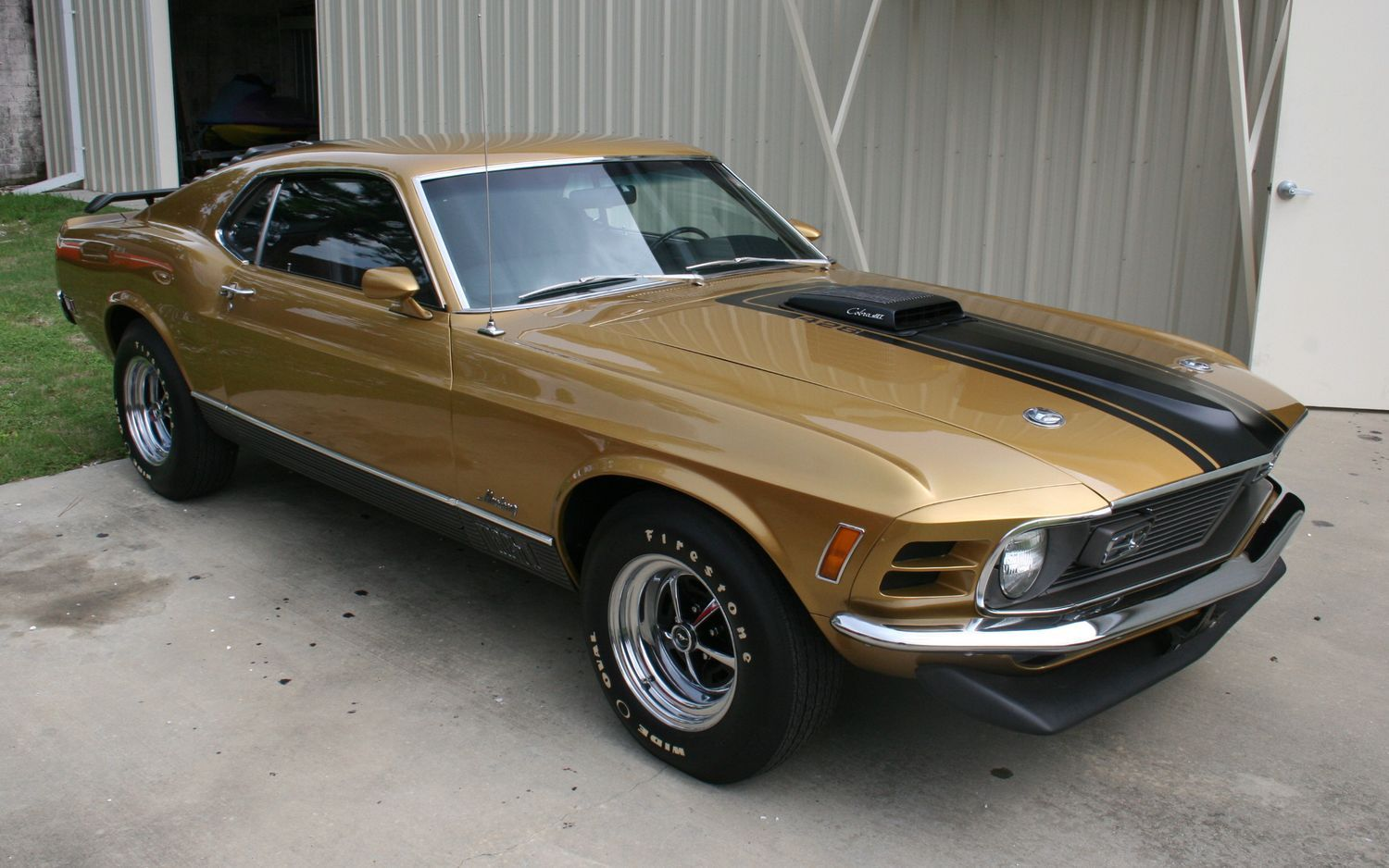 A Rare 1970 Ford Mustang Mach I With A 428 Cubic Inch