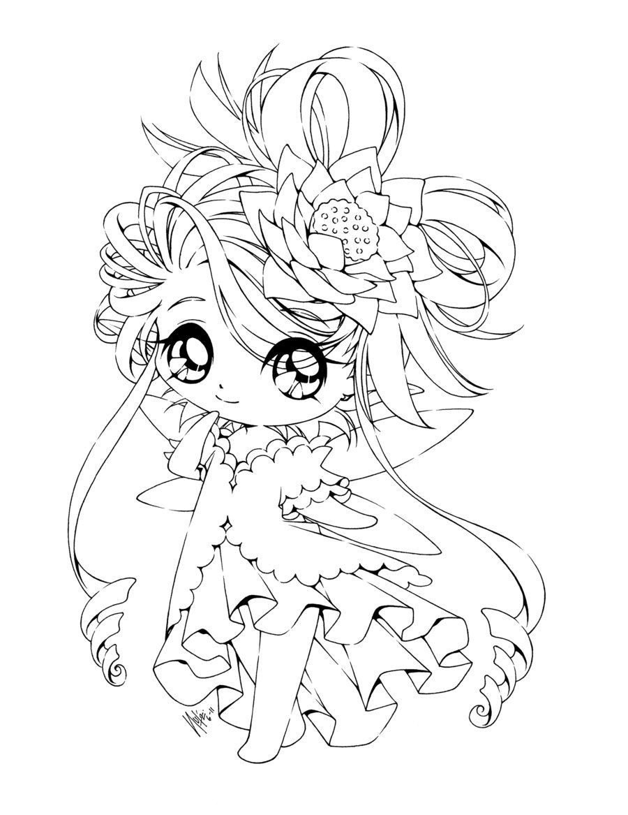 31++ Chibi girl colouring pages information