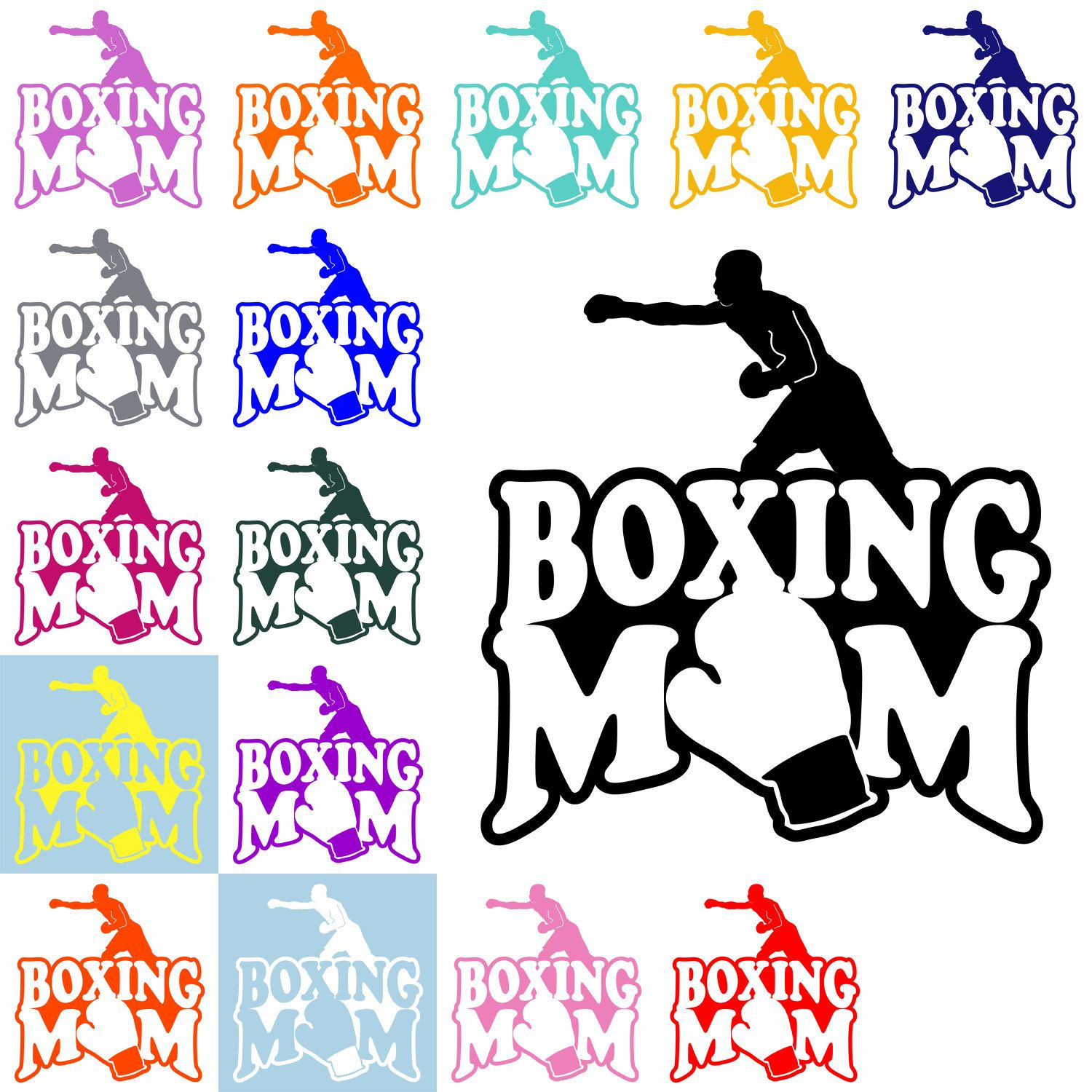 Boxingl Mom Decal Boxing Mom Sticker Mom Decal Sports Mom Decal Vinyl Decal Car Decal Boxing Boxer Automo Car Decals Vinyl Car Decals Sports Mom [ 1500 x 1500 Pixel ]