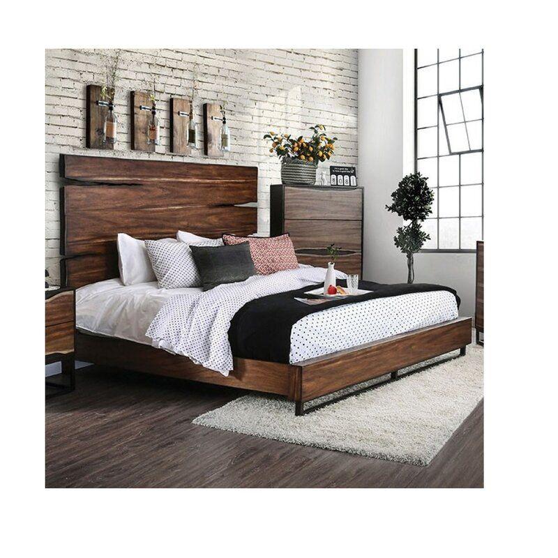 Josephus Solid Wood Standard Bed In 2021 King Bedroom Sets King Size Bedroom Sets Bedroom Set