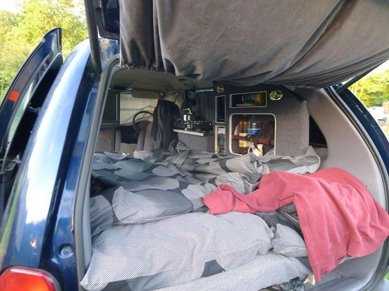 Chrysler Grand Voyager Camper Conversion 4 Campingforum Camper