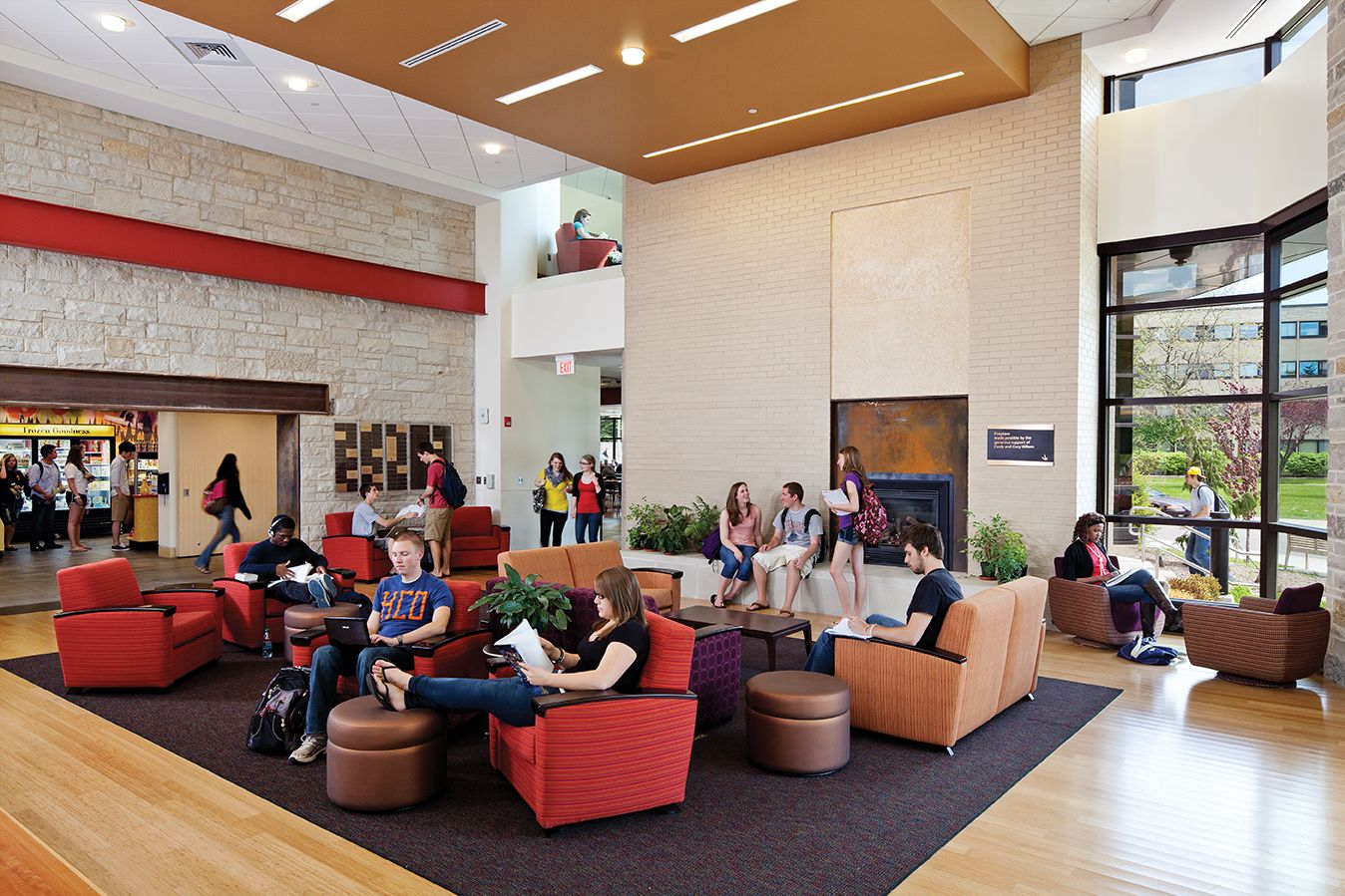 School lounge furniture, college study lounge college ...