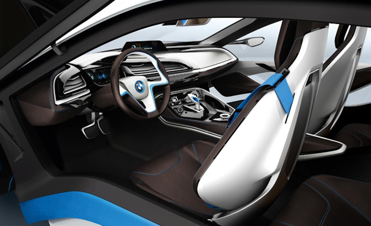 View Source Image With Images Bmw I8 Futuristic Cars Interior