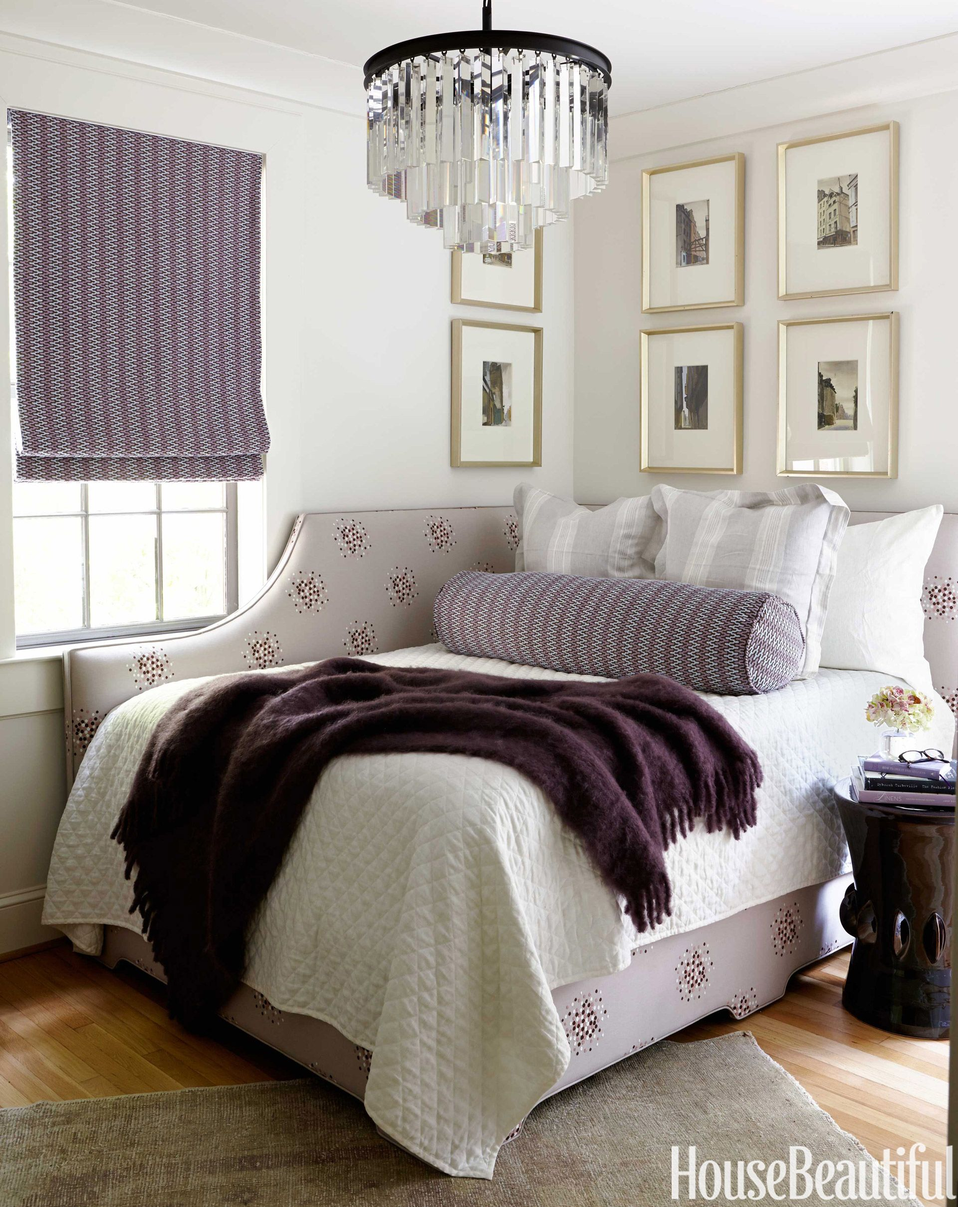 Inside A Mother Of Four S Glamorous Getaway Apartment Bed Against Wall Corner Bed Frame Corner Headboard