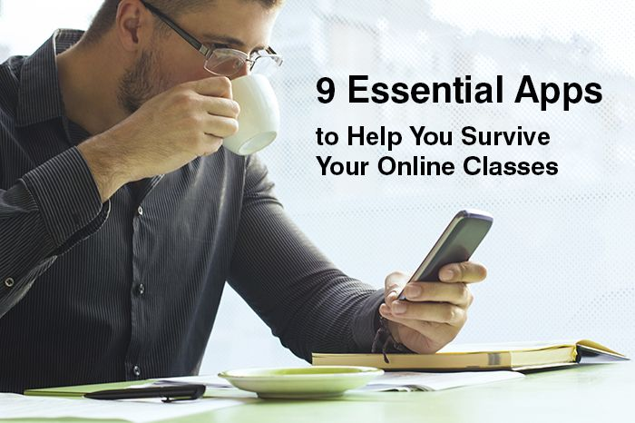 9 Essential Apps to Help You Survive Your Online Classes