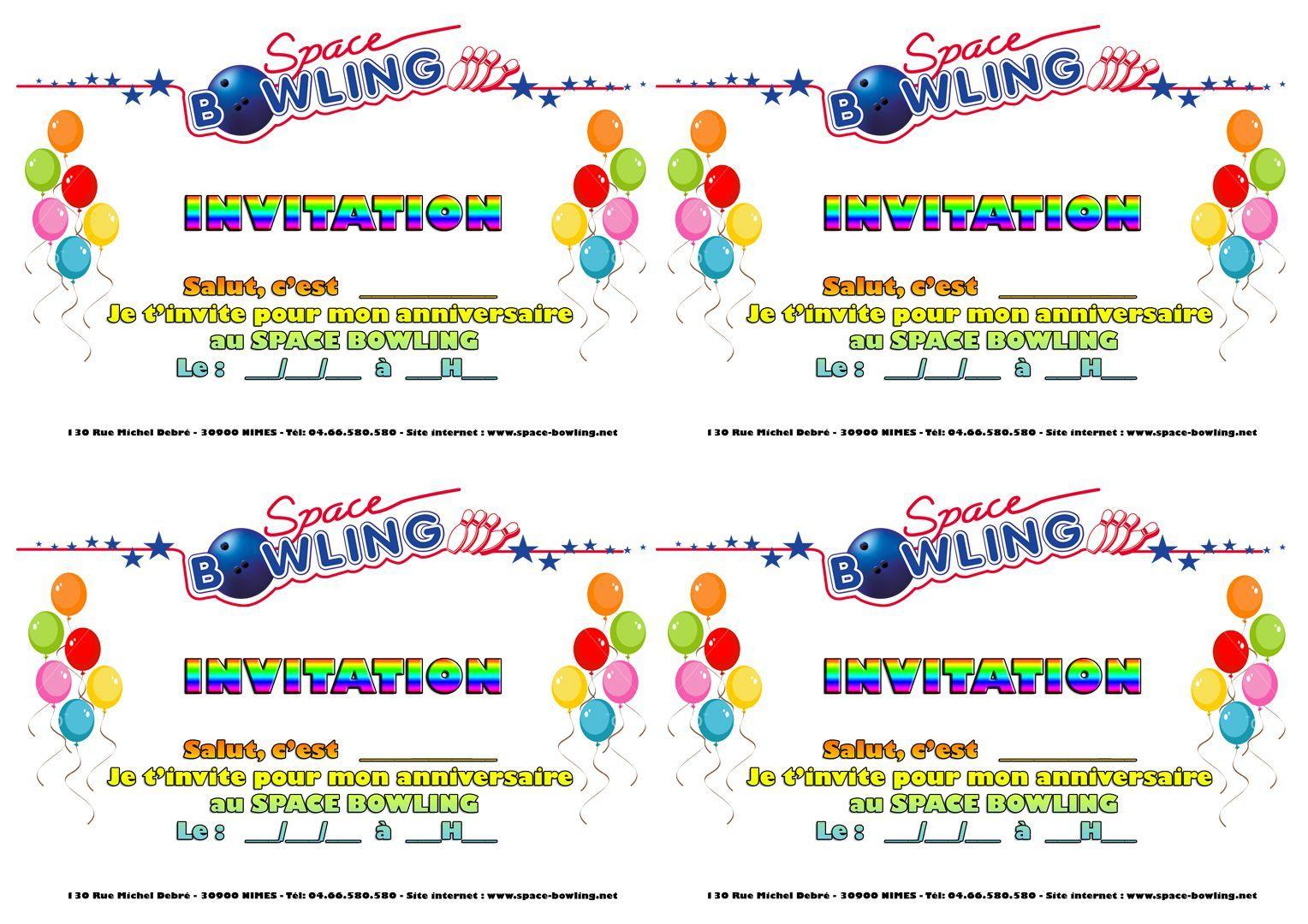 Carte d 39 invitation anniversaire imprimer gratuit adulte - Carte anniversaire a imprimer gratuit fille ...