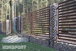 Gabion Fence Posts Bing Images Gabion Fence Fence Design
