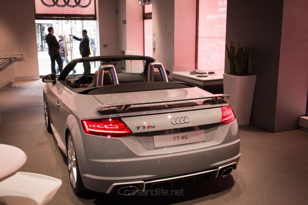 The New Audi TT RS Roadster   Cars
