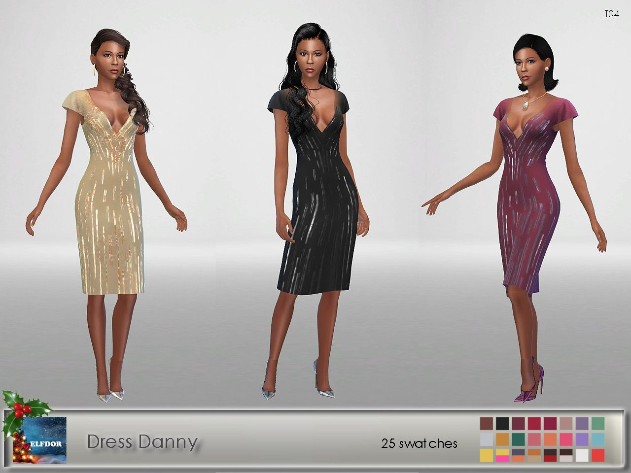 Haven39s Linger Dress New Mesh 20 Swatches HQ Mod