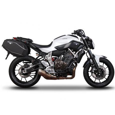 Fijación Alforjas Laterales Yamaha Mt 07 2013 2017 Shad Y0mt73se Motocicletas Yamaha Yamaha Mt Motos Yamaha
