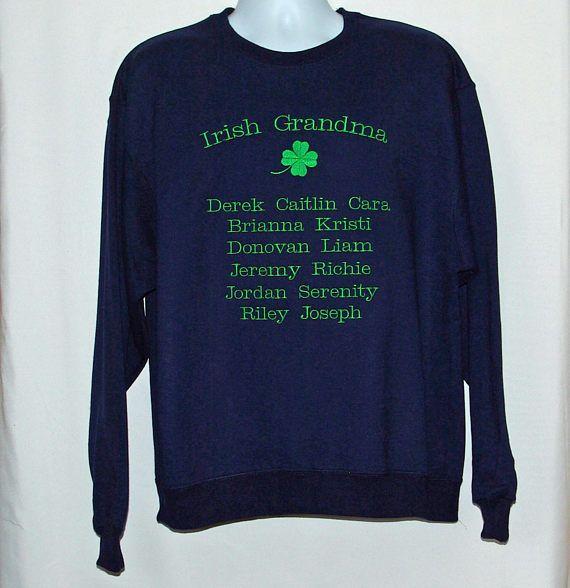 Grandparents Quarter Zip Pullover Sweatshirt, Grandparents Sweatshirt, Grandparents Quarter Zip, Personalized Grandparents Sweatshirt