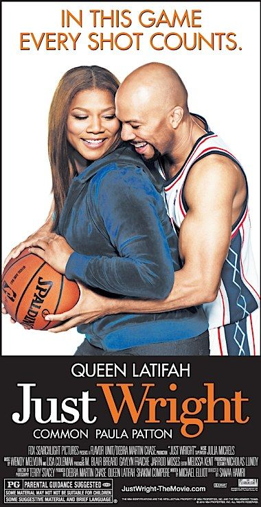 Just Wright // Queen Latifah,Common....I forgot to buy this one! Really nice flick!