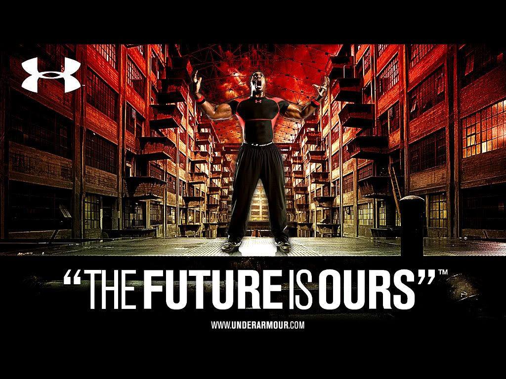 Under Armour Protect This House Poster The future is ours. Un...