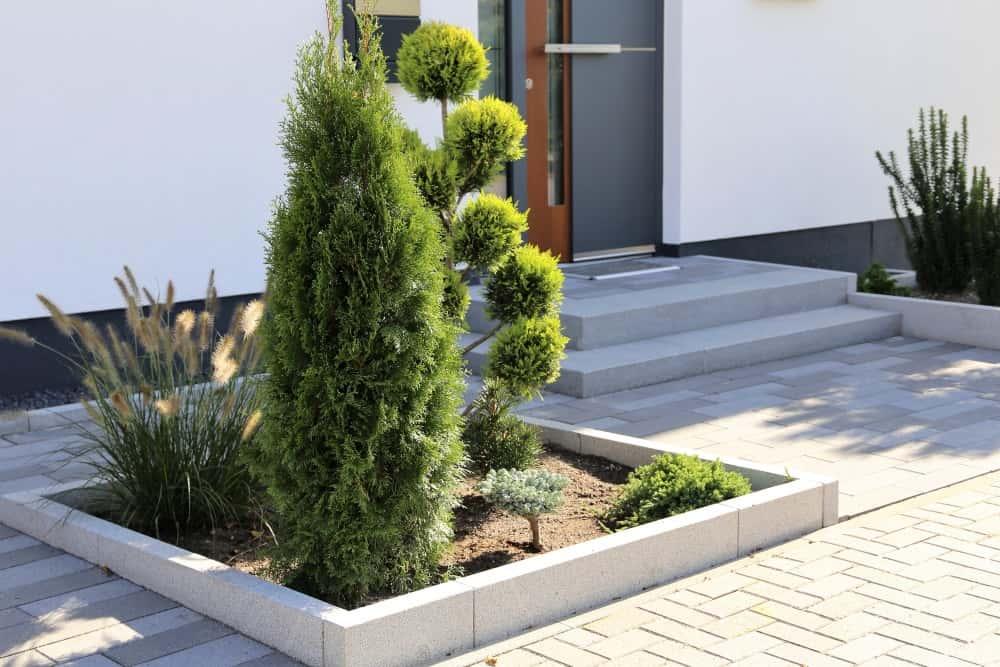 Vorgarten gestalten » 10 Tipps!
