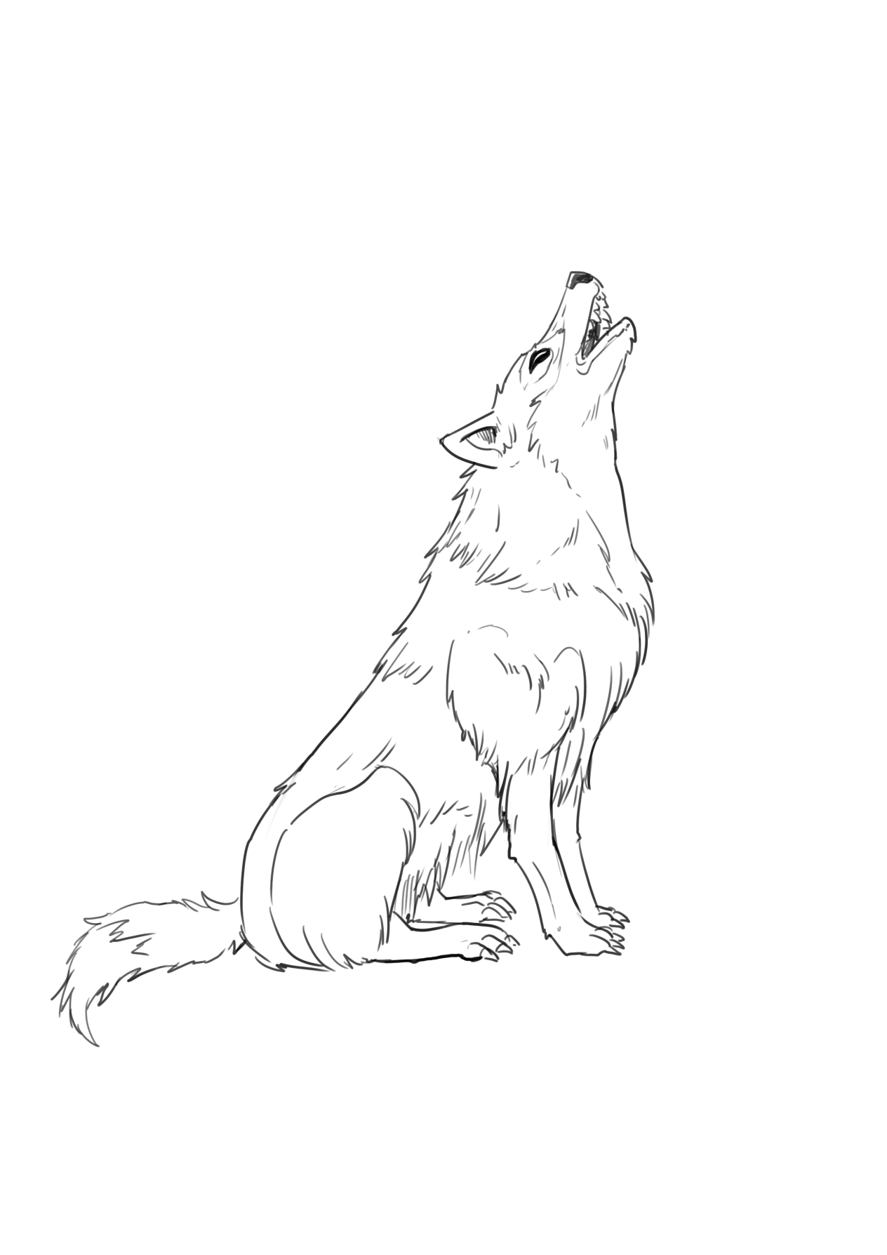 6 Ways to draw a Wolf - Realistic, Cartoon, and Fantasy ...