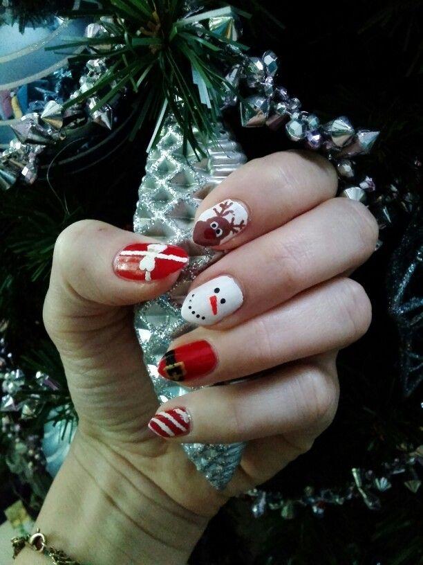 Christmas nails! Benvenuti nel mio mondo!