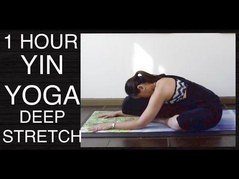 love yoga 1 hour yin yoga class  total body deep stretch