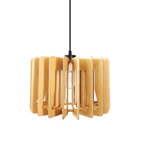 Wooden Pendant light - \'The Cylindrus pendant\' - Made in Brisbane ...