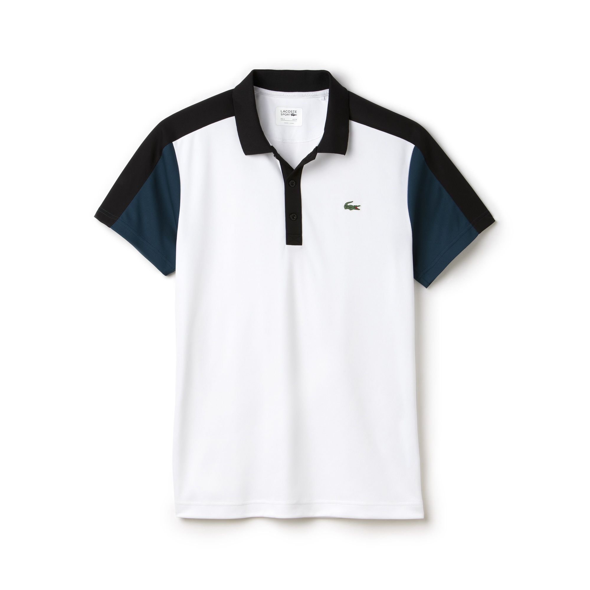7f88568eb Ultra Dry Colorblock Polo | LACOSTE | TOPS | Polo, Lacoste polo ...