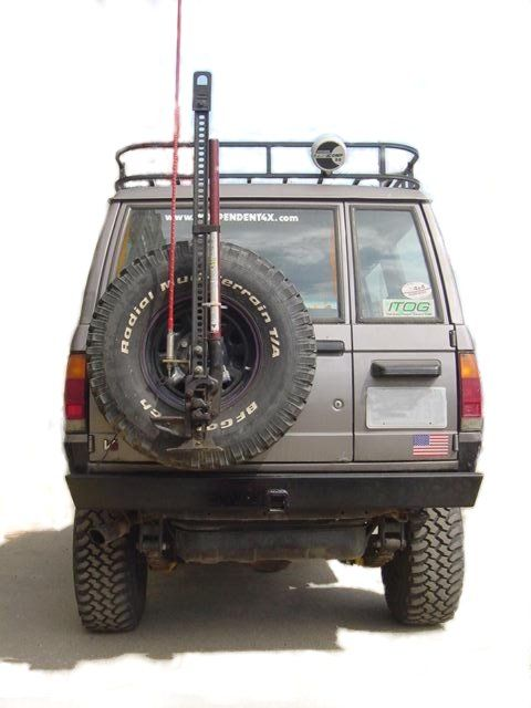 Trooper 87-91 REAR ROCKCRAWLING BUMPER | Trooper Stuff ...