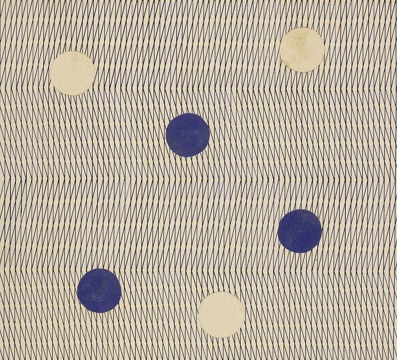 Hermann fischer design for a bauhaus wallpaper c 1932 for Bauhaus 3d tapete